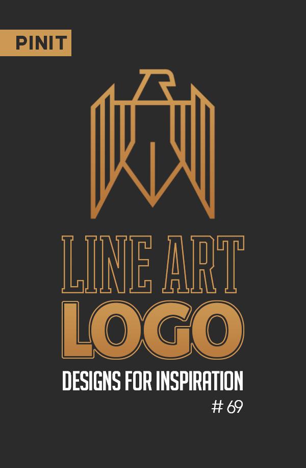 31 Creative Line Art Logo Designs for Inspiration