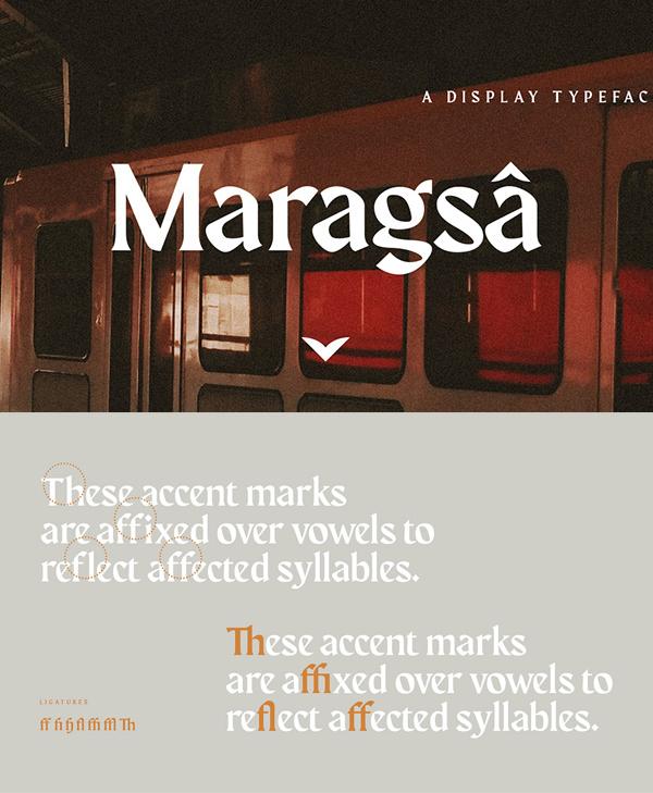 Maragsa Semi-serif Free Font
