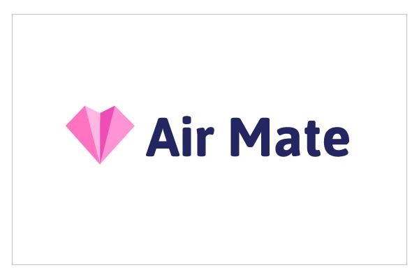 Air Mate app Logo by Analia Luque