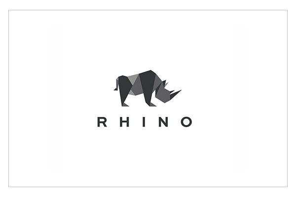 RHINO Origami Logo by Yuri Krasnoshchok