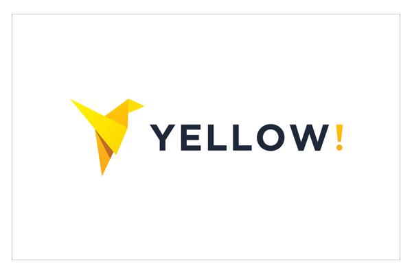 Yellow Logo Design by Graphicflava