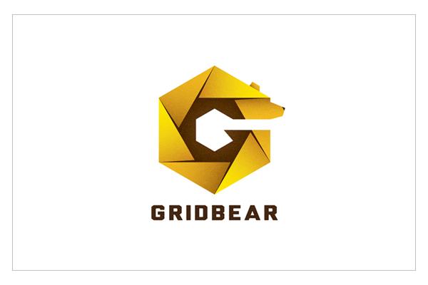 Grid Bear - Logo Design by Daru Sim
