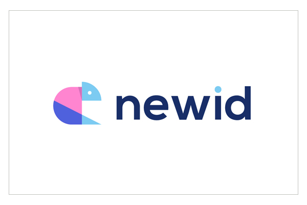 Newid - Logo Design - Chameleon by Andrea Binski