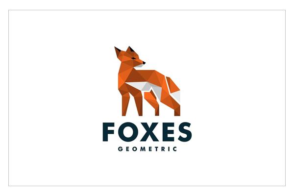Fox Origami Logo Design