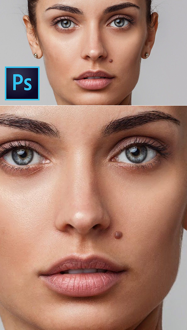 Learn How to Retouching Beauty Skin in Photoshop Tutorial