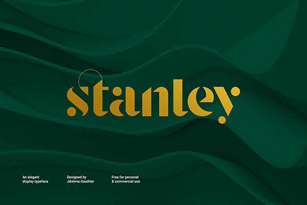 Stanley Stencil Free Font