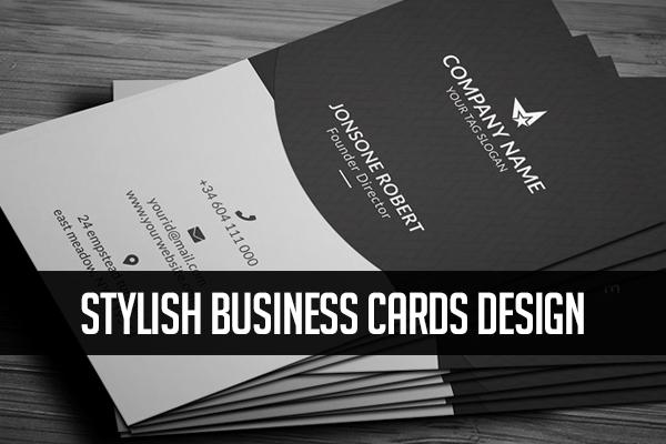 Business Cards Design – Stylish Print Ready