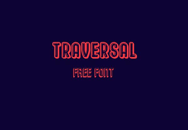 Traversal Free Font