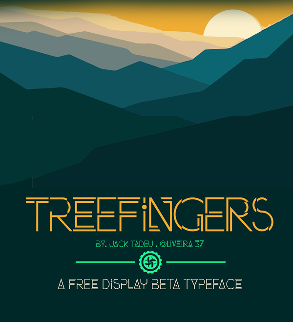 Treefingers Free Font
