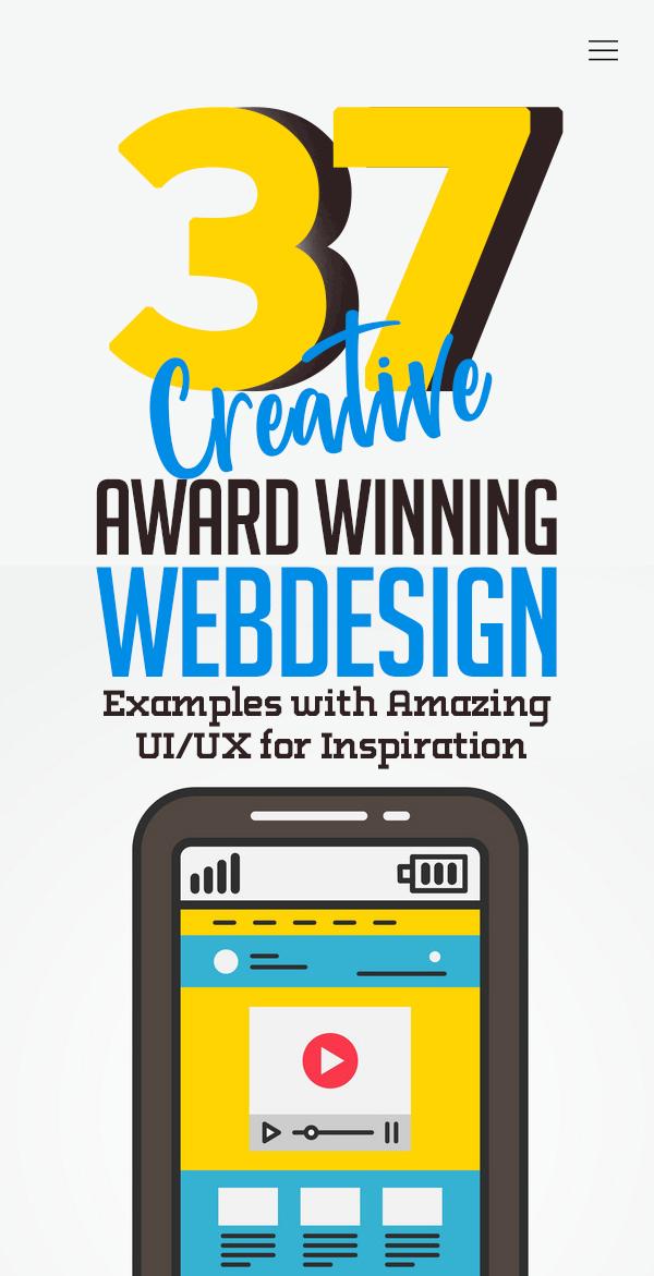 Web Design: 37 Creative UI/UX Websites for Inspiration