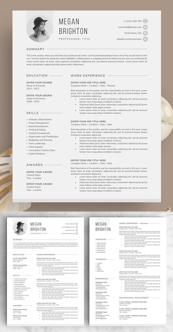Resume / CV - The Megan