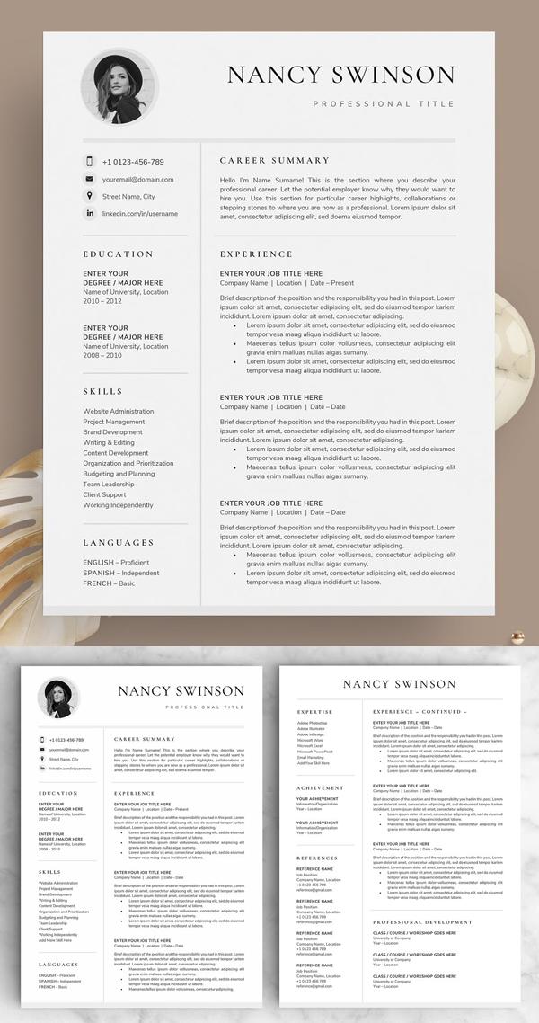 Resume / CV - The Nancy