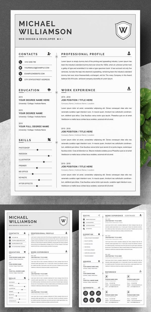 Resume Resume | Clean & Professional