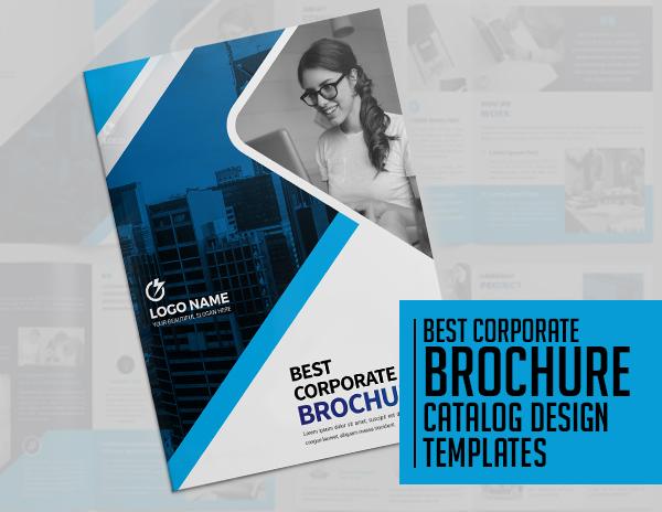 20 Best Corporate Catalog & Brochure Design Templates