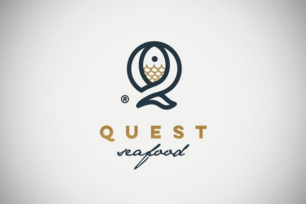 Q Fish Line Logo by PrstiPerje