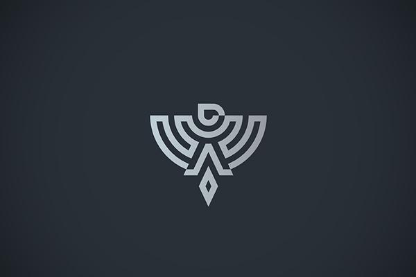 Eagle Line Art Logo by Dalibor Pajic