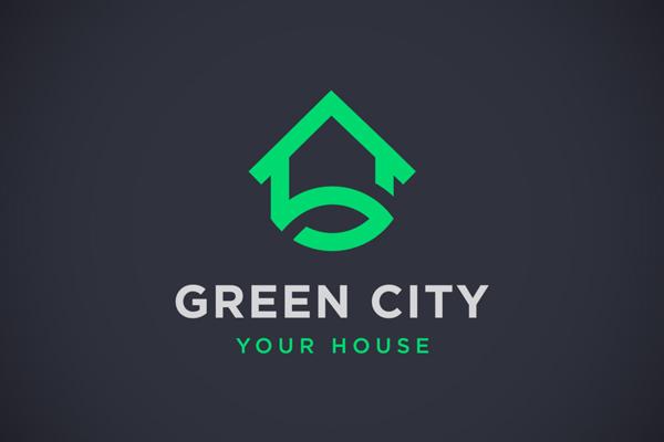 Green City Logo by Tistio