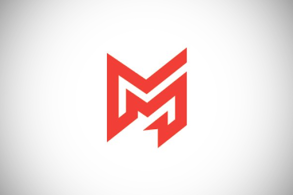 Colorful Letter M Logo by nospacestore