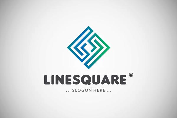 Line Square Logo