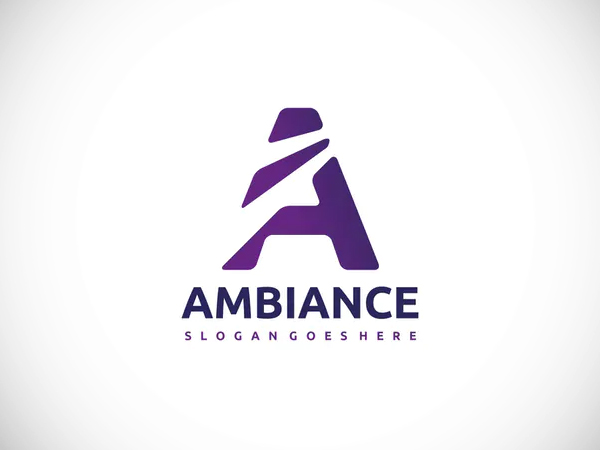 A Letter- Ambiance Logo Design