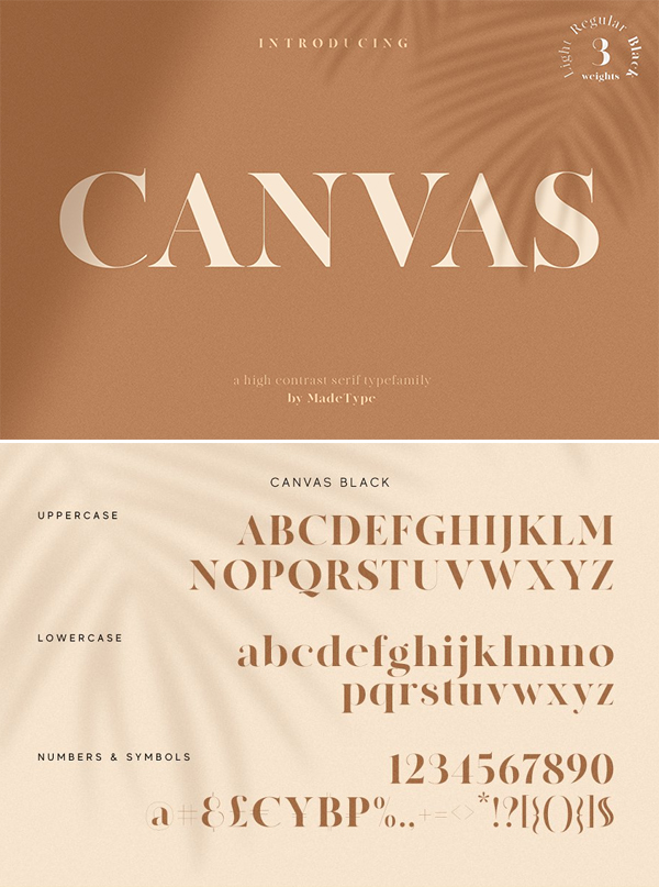 Awesome Canvas Font