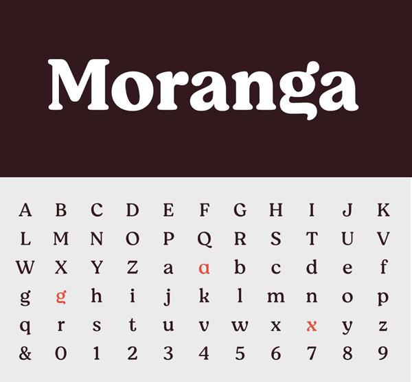 Moranga Serif Font