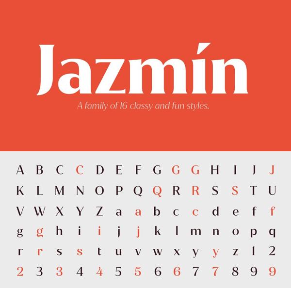 Creative Jazmín Font