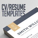 Post thumbnail of 21 Professional CV / Resume Templates with Matching Cover Letter