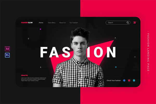 Fashion Glow | Landing Page