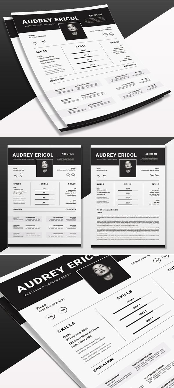 Elegant Epic   CV & Resume