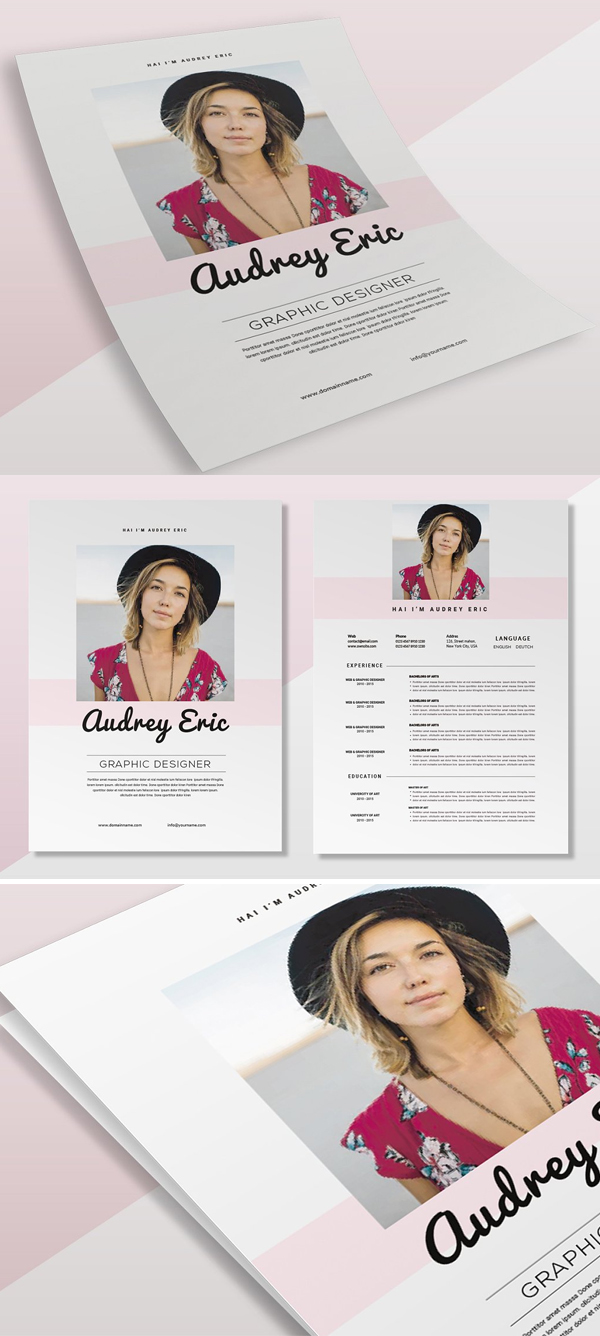 Audrey Simple   CV & Resume