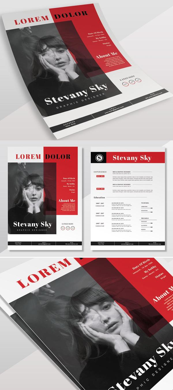 Red Sky   CV & Resume