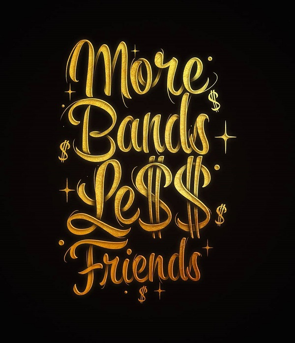 Remarkable T-Shirt Lettering Designs for Inspiration