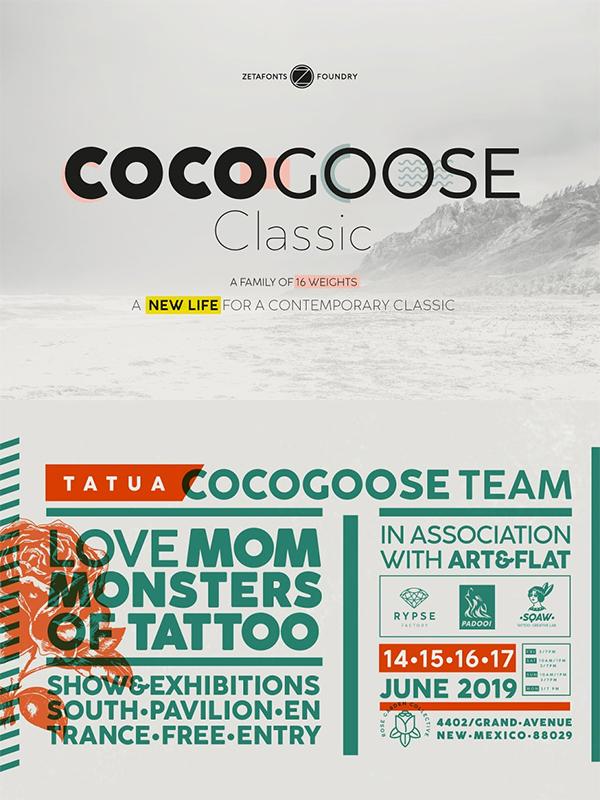 Cocogoose Classic Font