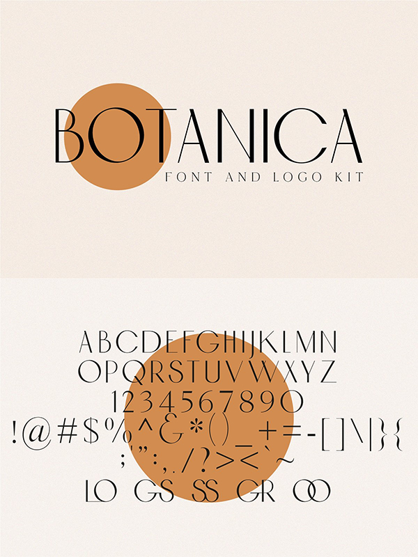 Botanica - Font