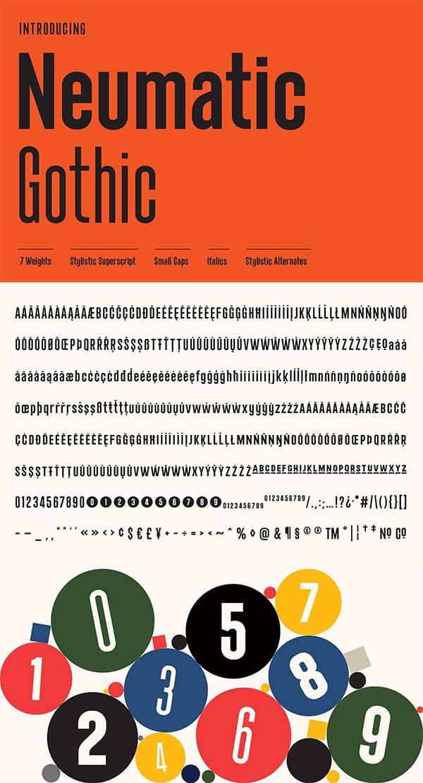 Neumatic Gothic Font