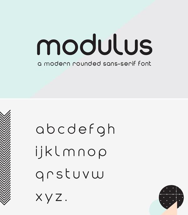 Modulus Sans Serif Font