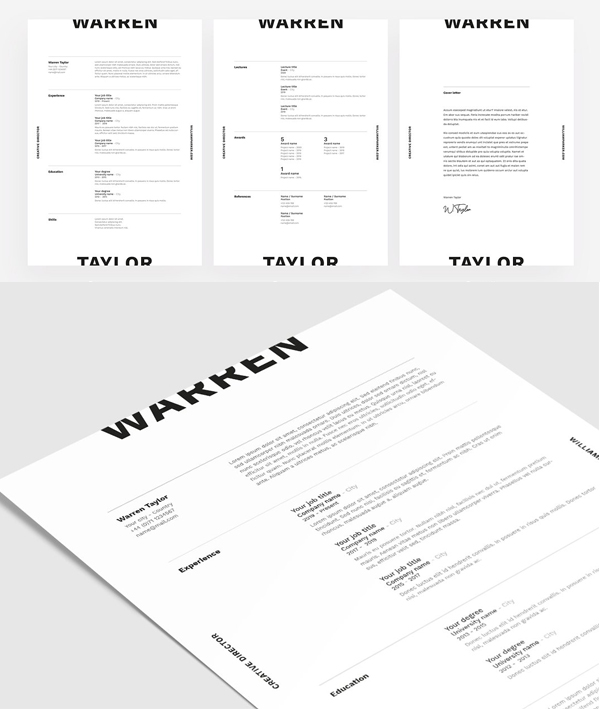 Warren | CV / Resume Template