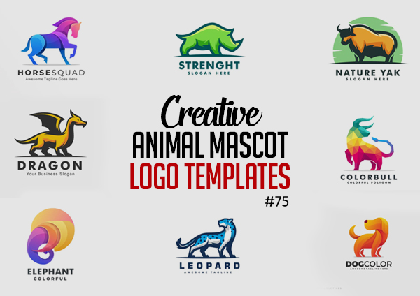 30 Creative Animal Mascot and Logo Templates for Inspiration #75