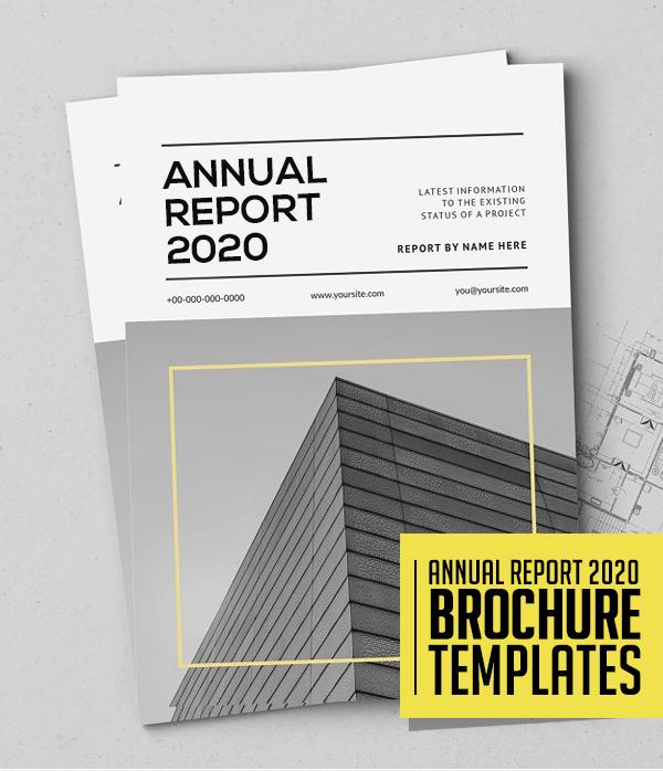 25 Professional Annual Report Brochure Templates Design