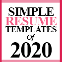 Post thumbnail of 22 Simple CV / Resume Templates with Cover Letters