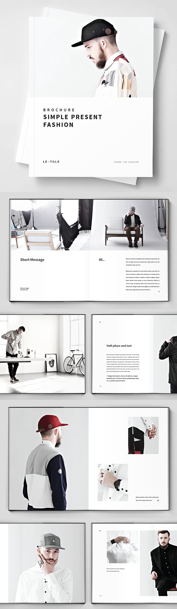 Best Fashion Brochure Template