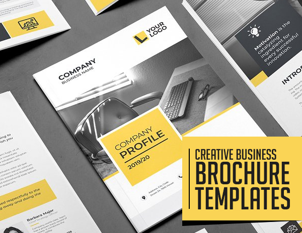 25 Professional Brochure Templates Design