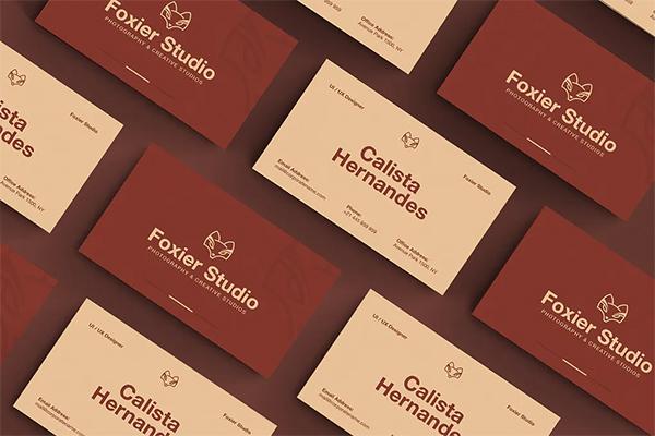 Modern Best Business Card Design