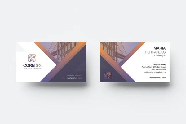 Print Ready Business Card Design