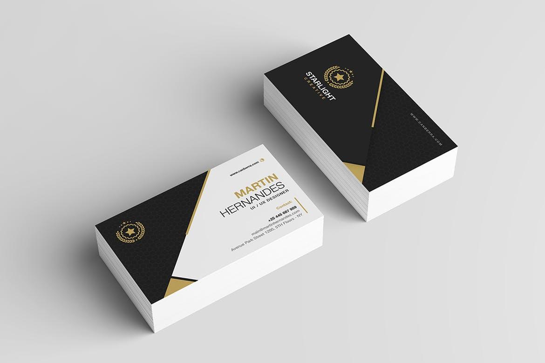 Elegant Best Business Card Template
