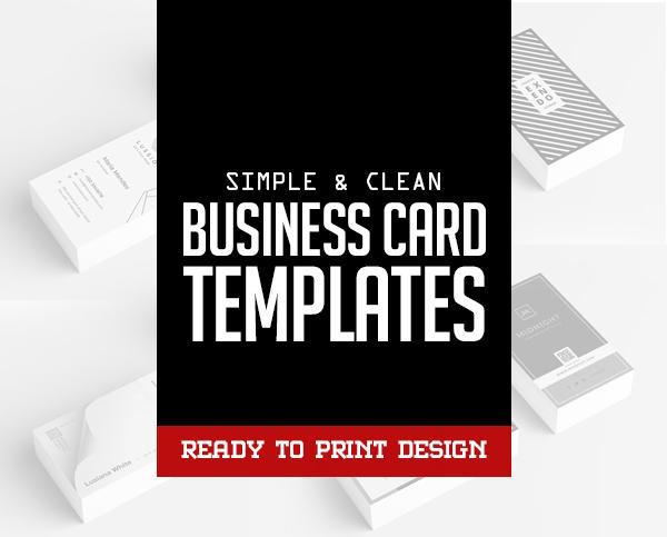 Business Cards Design: 25 Best Print Templates
