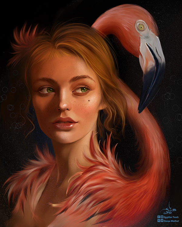 Amazing Digital Paintings By Hanaa Medhat - 11