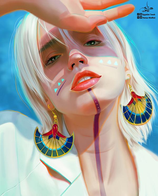 Amazing Digital Paintings By Hanaa Medhat - 14