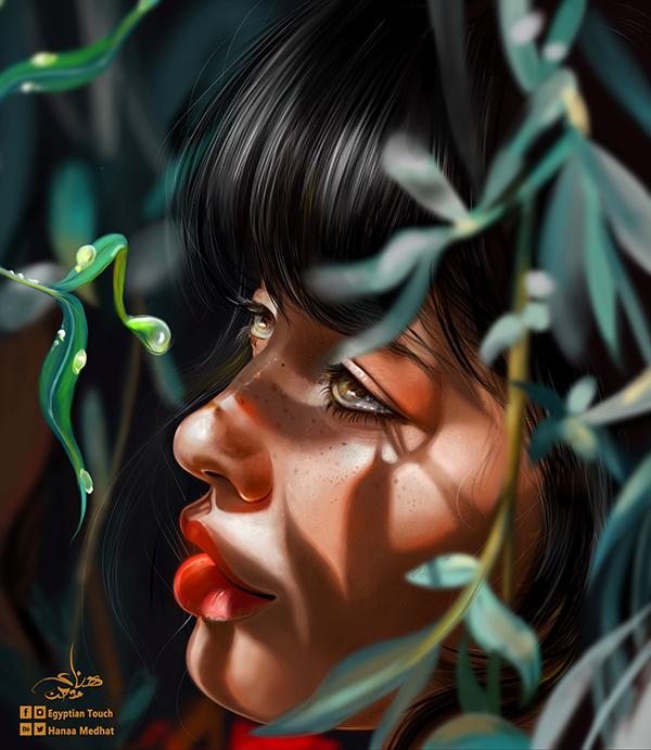 Amazing Digital Paintings By Hanaa Medhat - 15